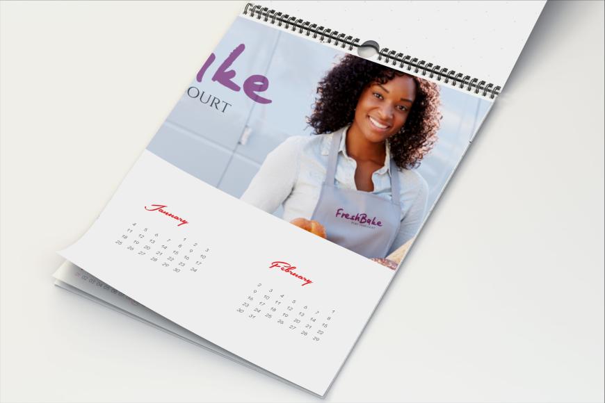 Calendar Design Nigeria : A wall calendar sheets printivo