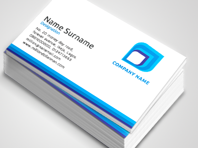 Customise your design one sided business cards blue wing printivo colourmoves