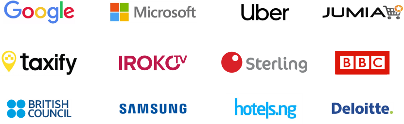 Printivo is trusted by Google, Microsoft, Uber and more top organizations. You are in good company!